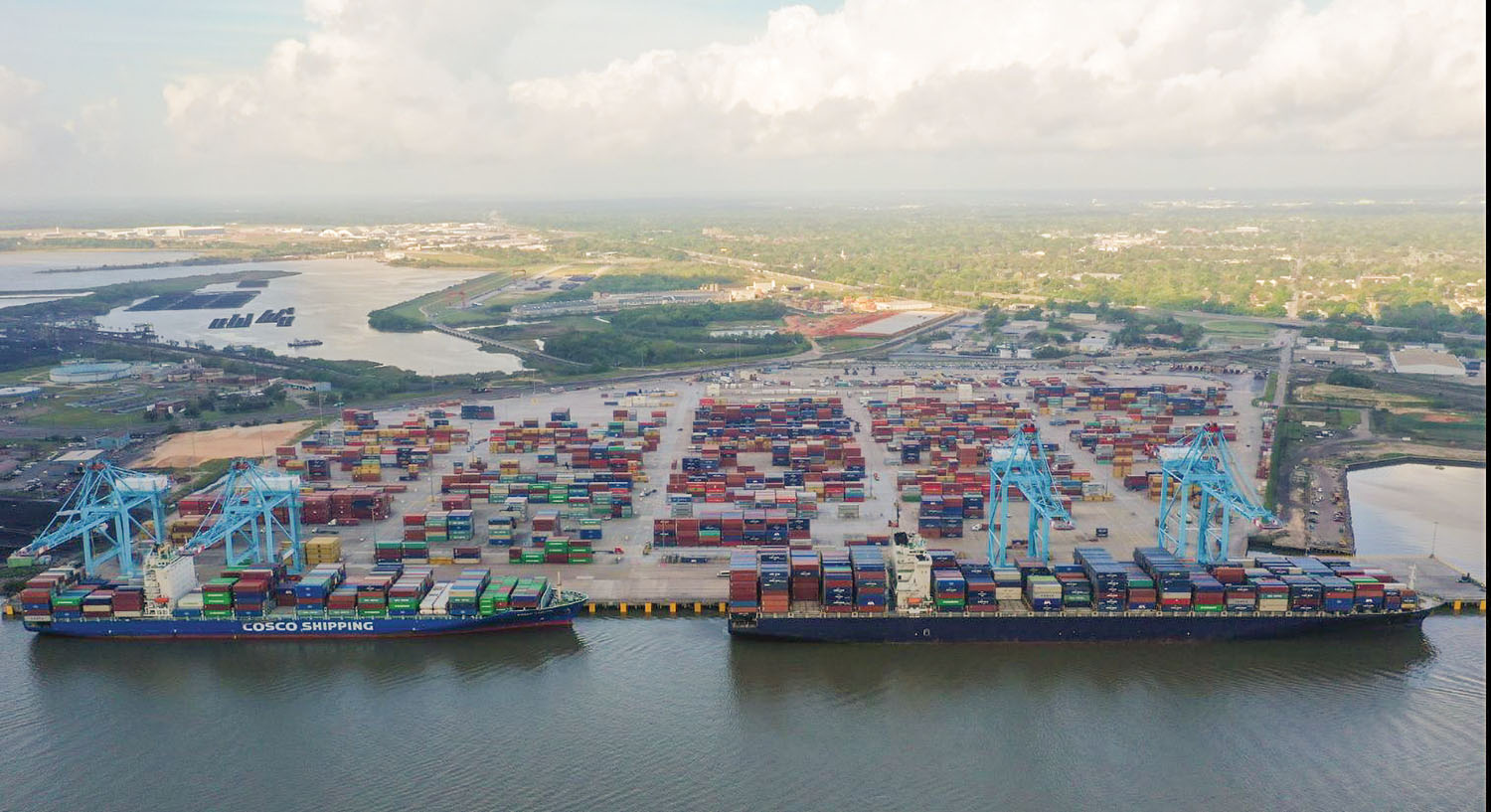 Port Of Mobile Completes Expansion Of Container Terminal