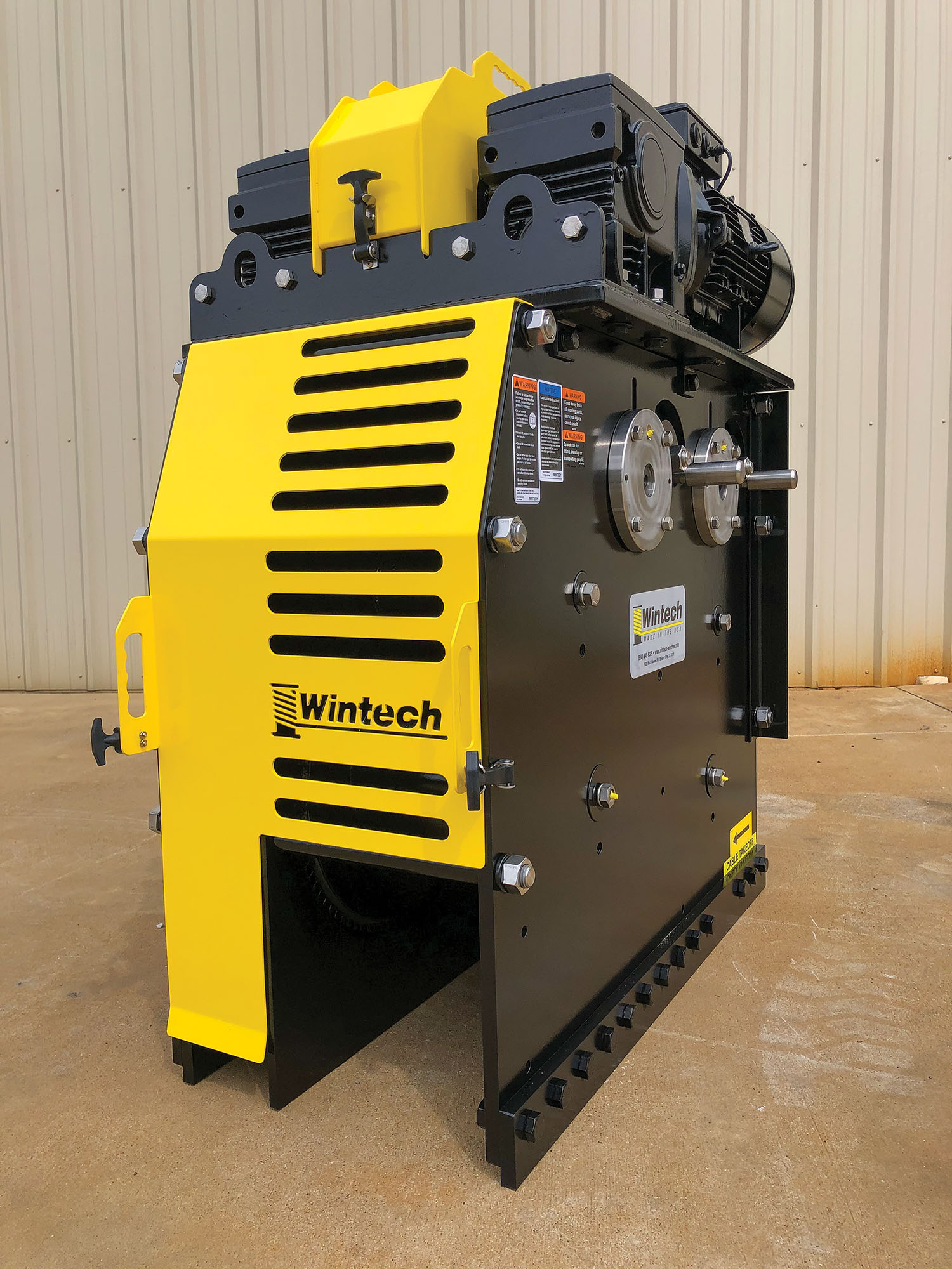 New Wintech Winch Offers Smaller Footprint