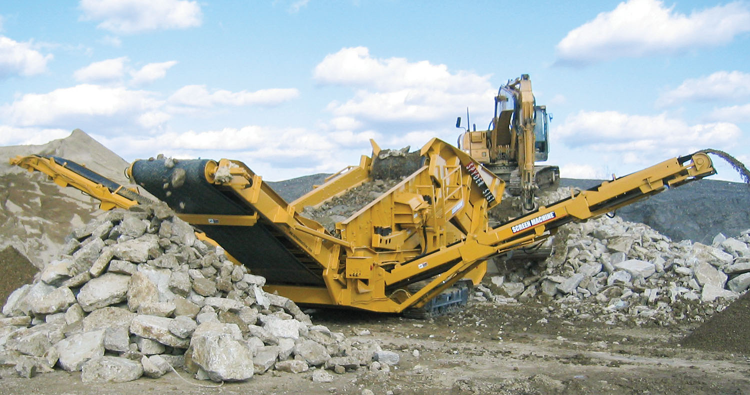 Screen Machine Industries is a leading manufacturer of portable jaw, impact and cone crushers.