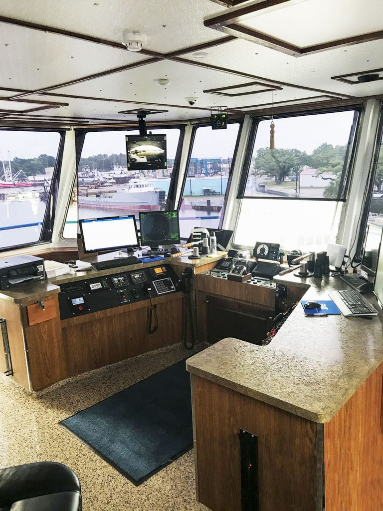 Wheelhouse. (Photo courtesy of Metal Shark Alabama)