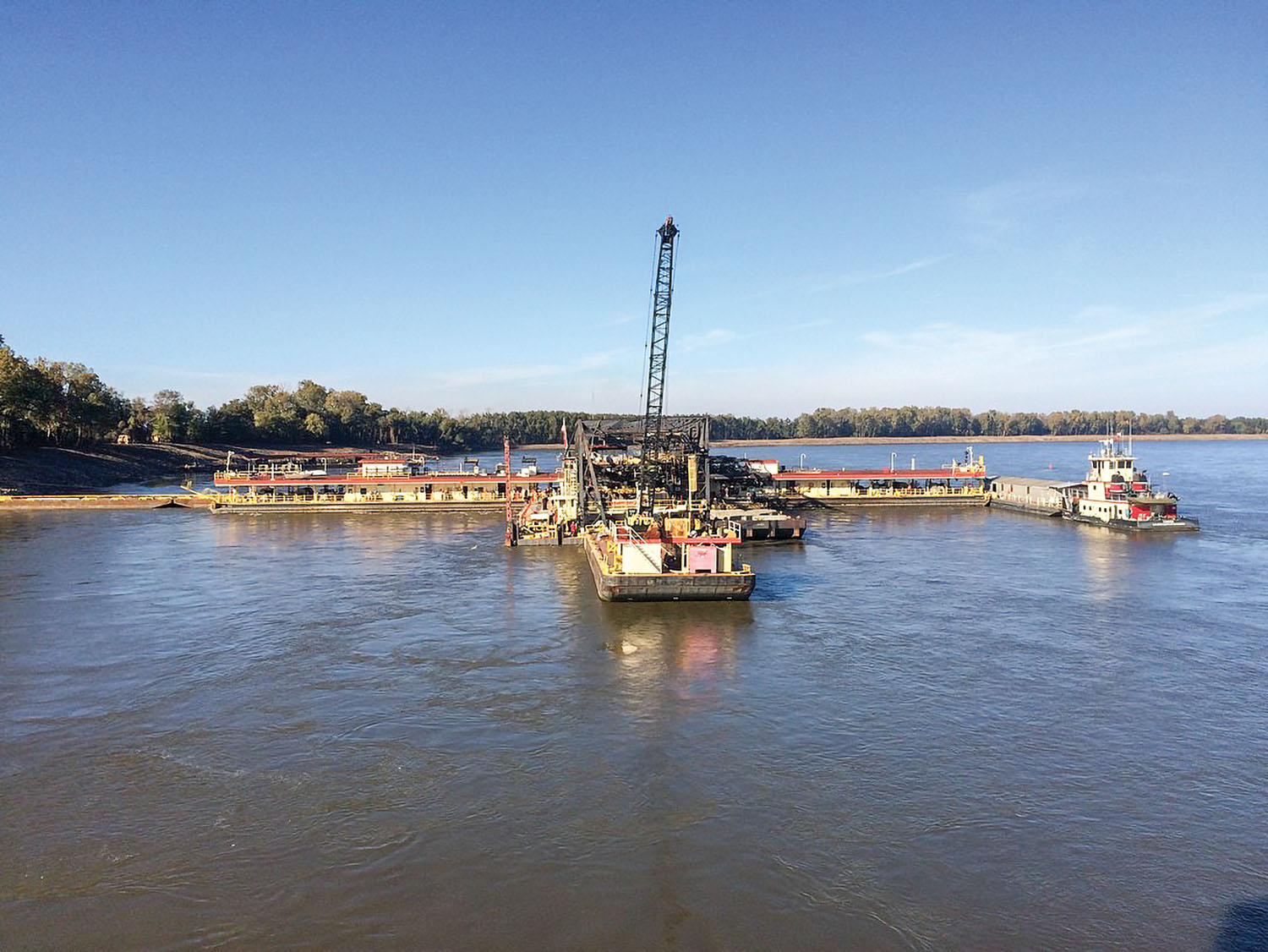 Memphis District Begins Revetment Season