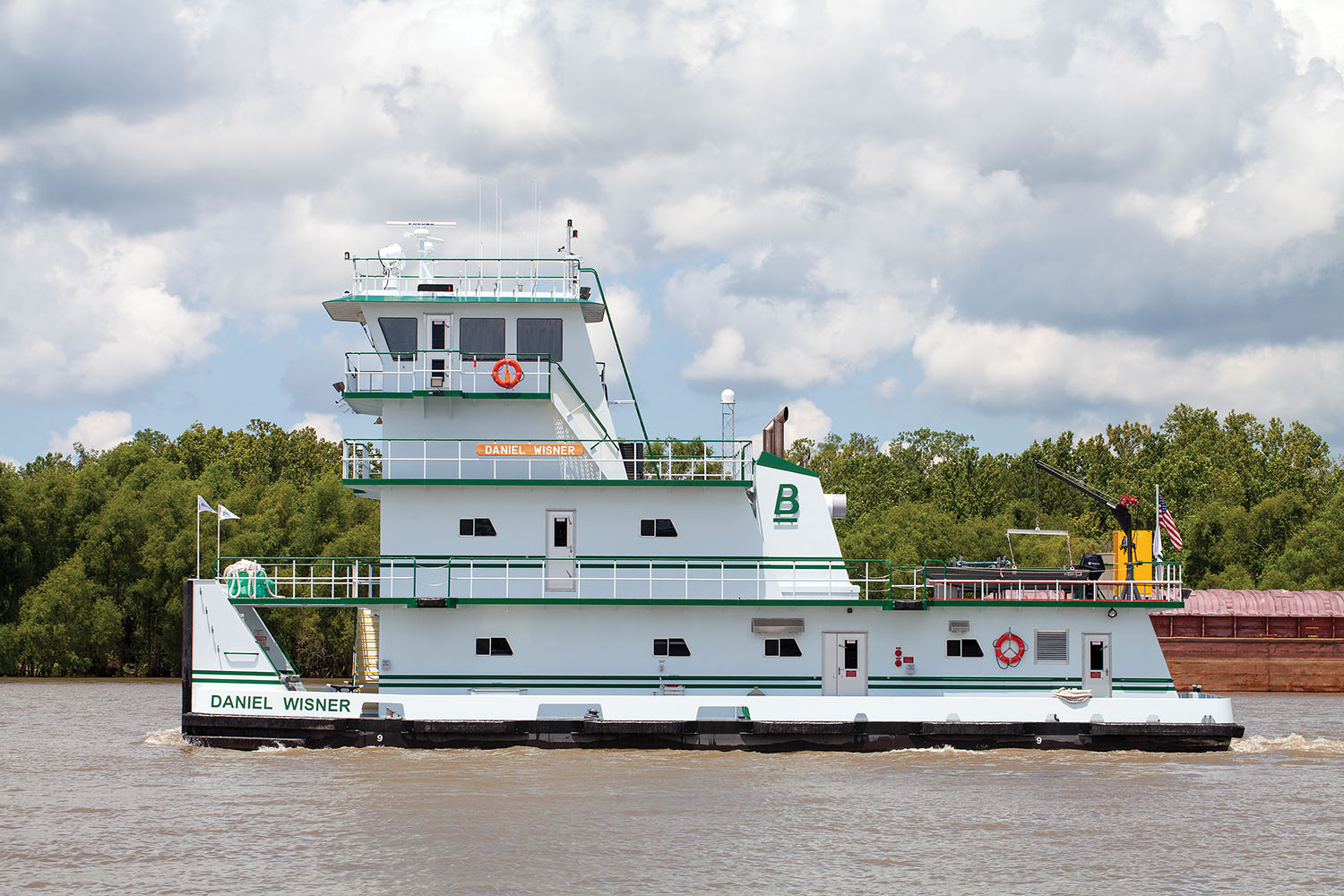 Blessey Christens Latest Towboat From Verret Shipyard