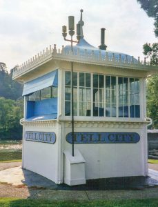 The restored pilothouse as it looked in September 2003. (Photo by Keith Norrington)