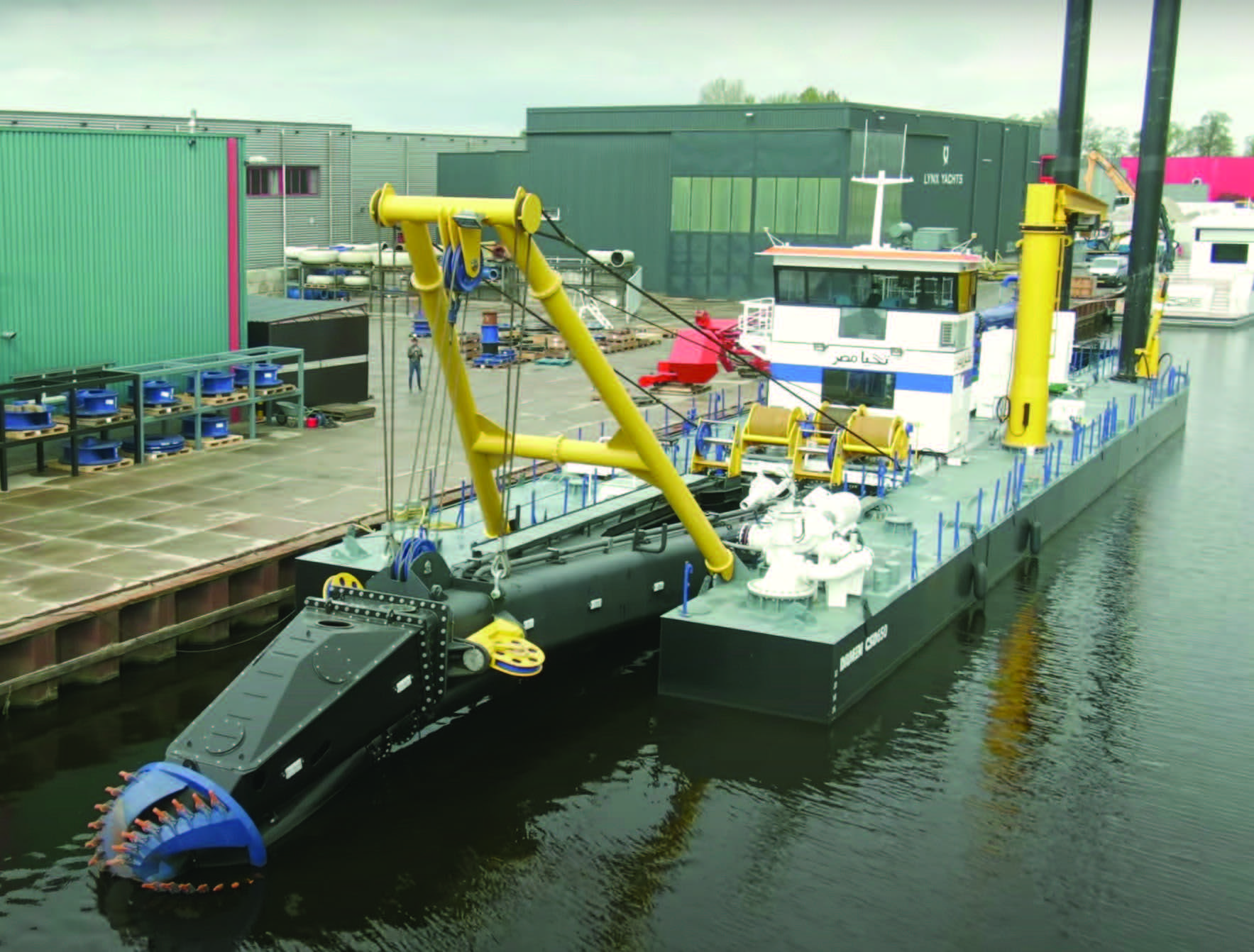 Damen Shipyards Group recently completed its first Electric Cutter Suction Dredger 650.