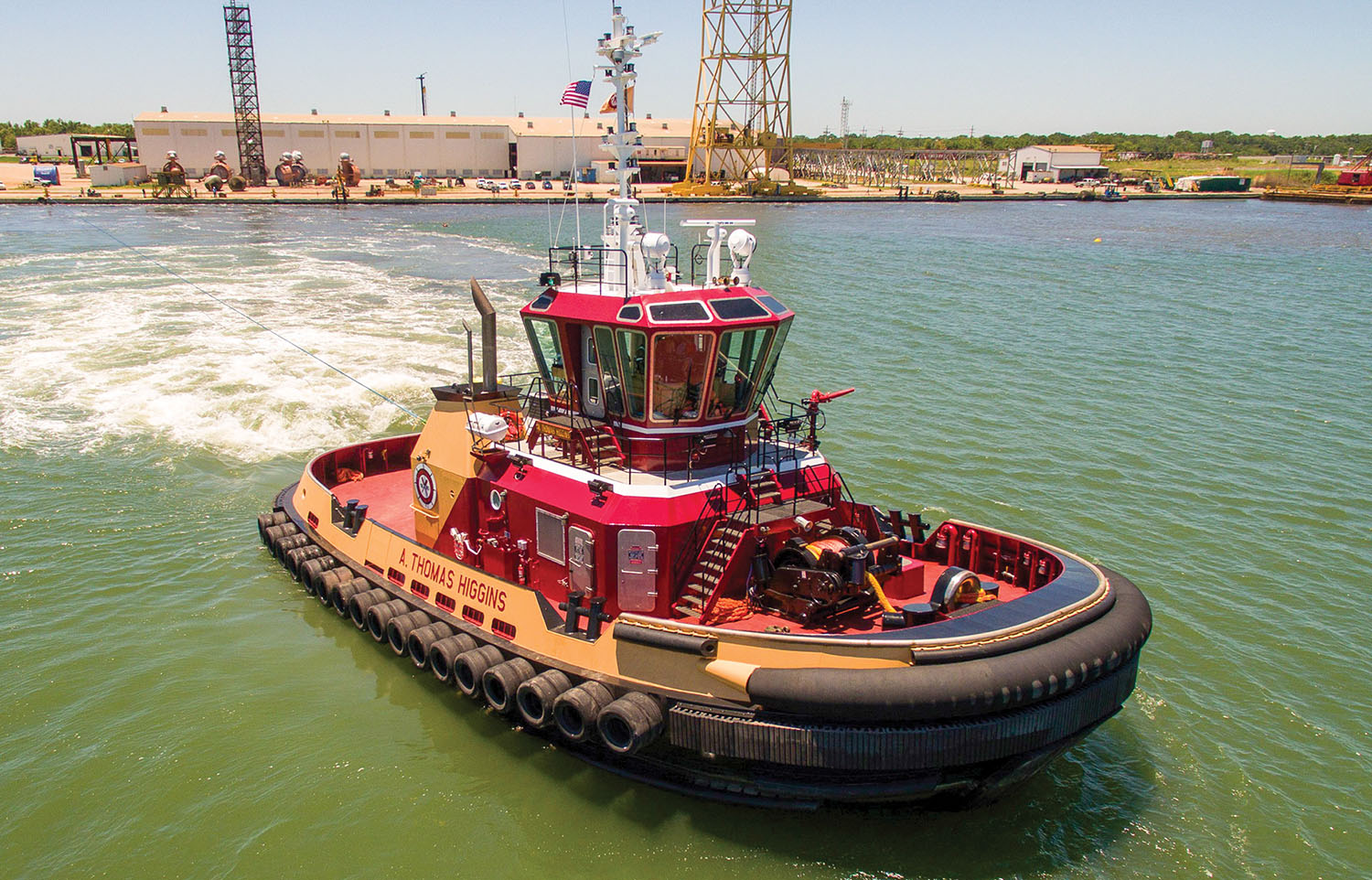 Z-drive tug is the sixth constructed for Bisso by Eastern Shipbuilding.
