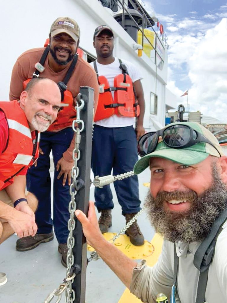 """From Joey Cargol's Facebook page: """"Capt. Robert Deluca and the crew of the Capt. Gregory Smith took such good care of me. Ice, drinks, and a good bag of snacks! Plus I got there just in time for lunch!"""""""