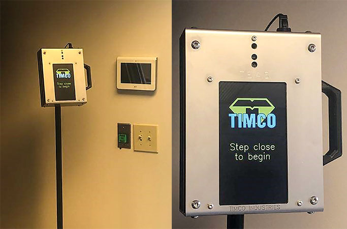 TIMCO Introduces Touchless, Automated Temperature Scanner