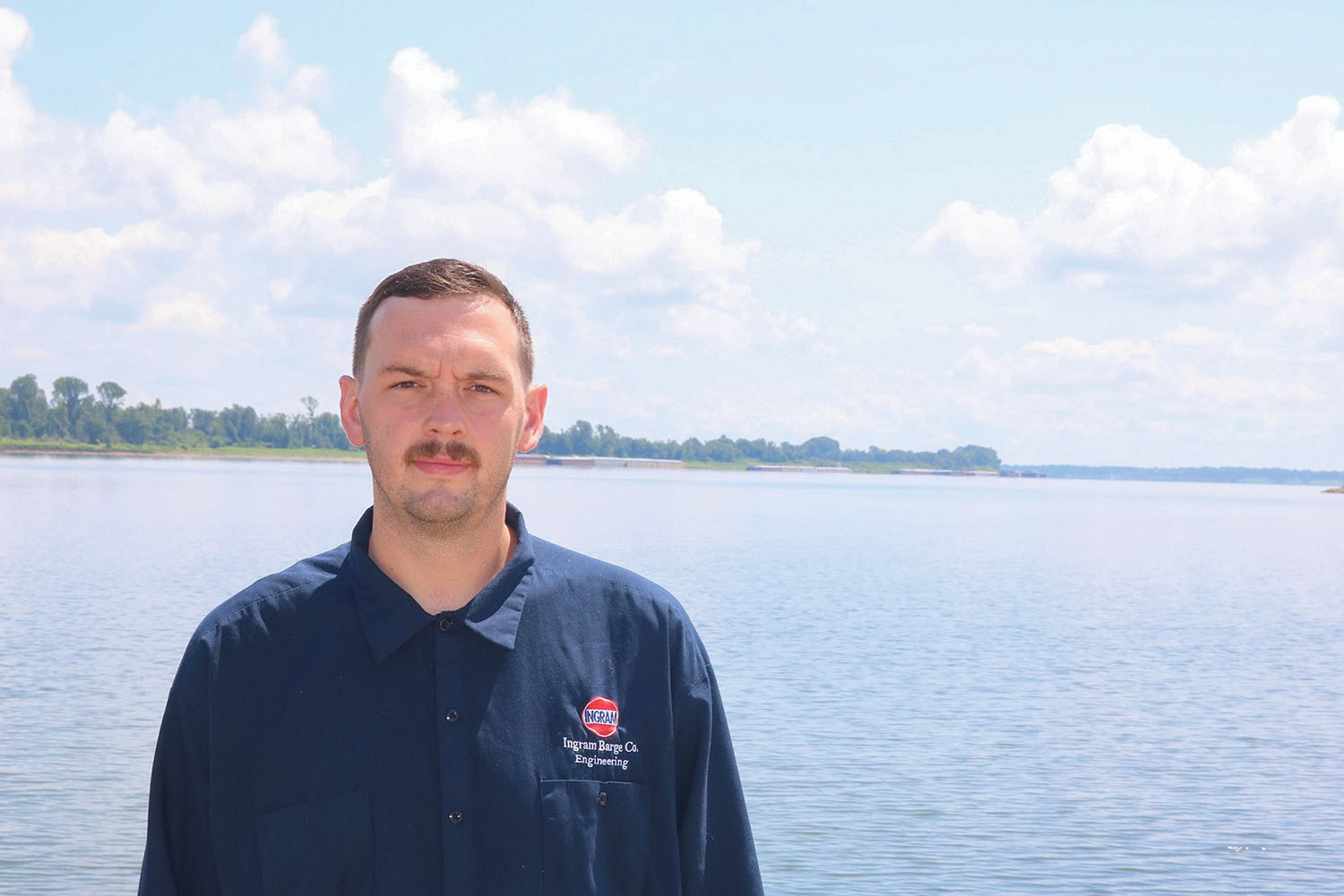 Zach Burkhart, Ingram Barge Company.
