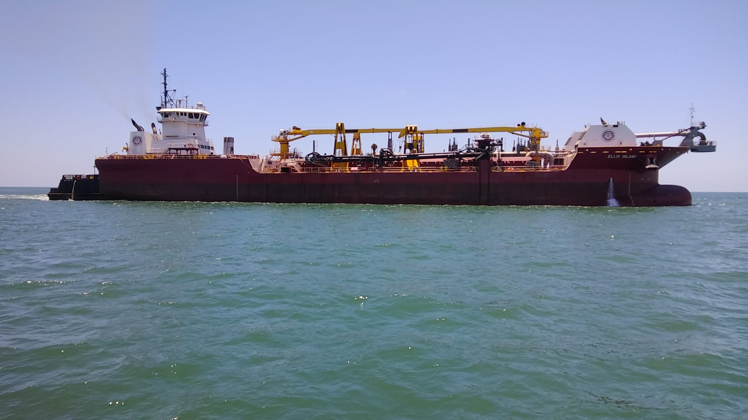 Dredging Now Underway on Corpus Christi Channel Improvement