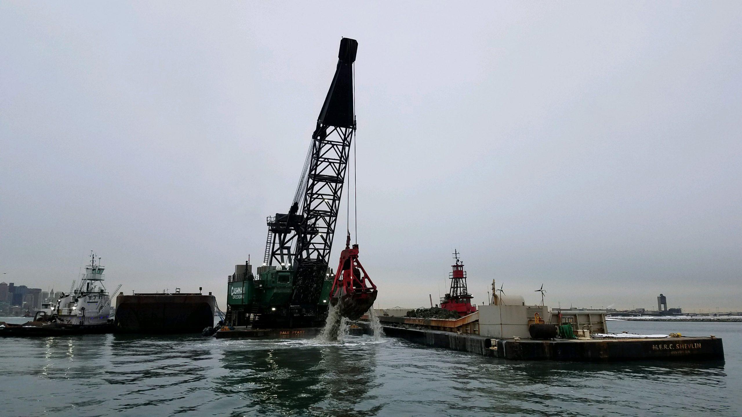 Second Phase of Boston Harbor Project Reaches Sediment Milestone