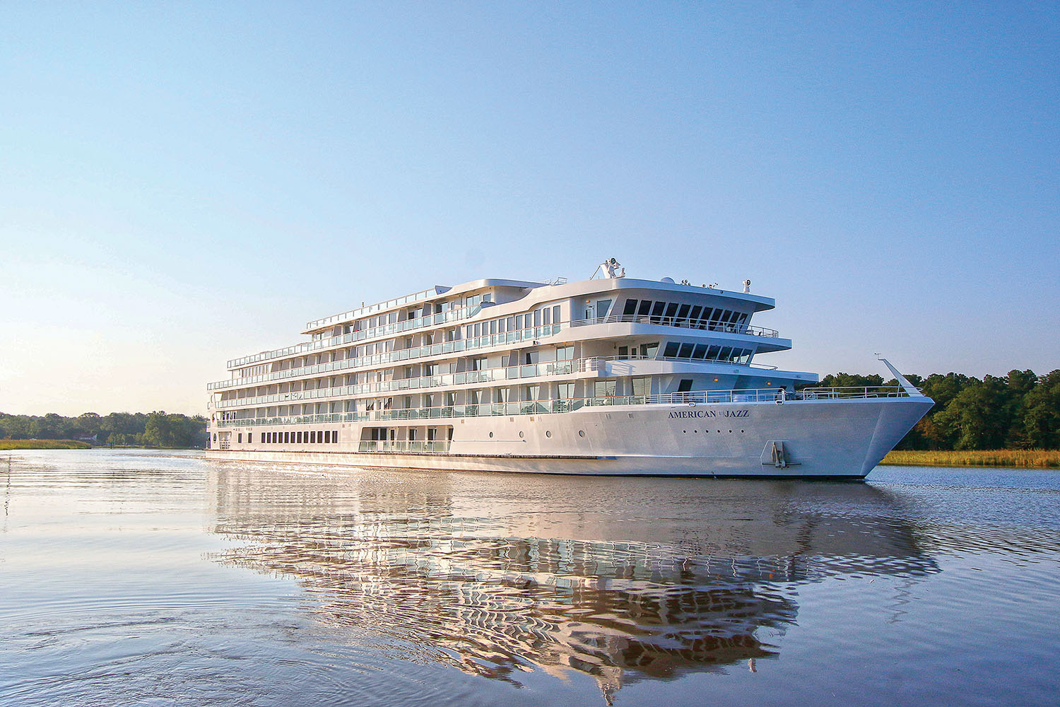 Built by Chesapeake Shipbuilding, the American Jazz will operate on the Mississippi River.