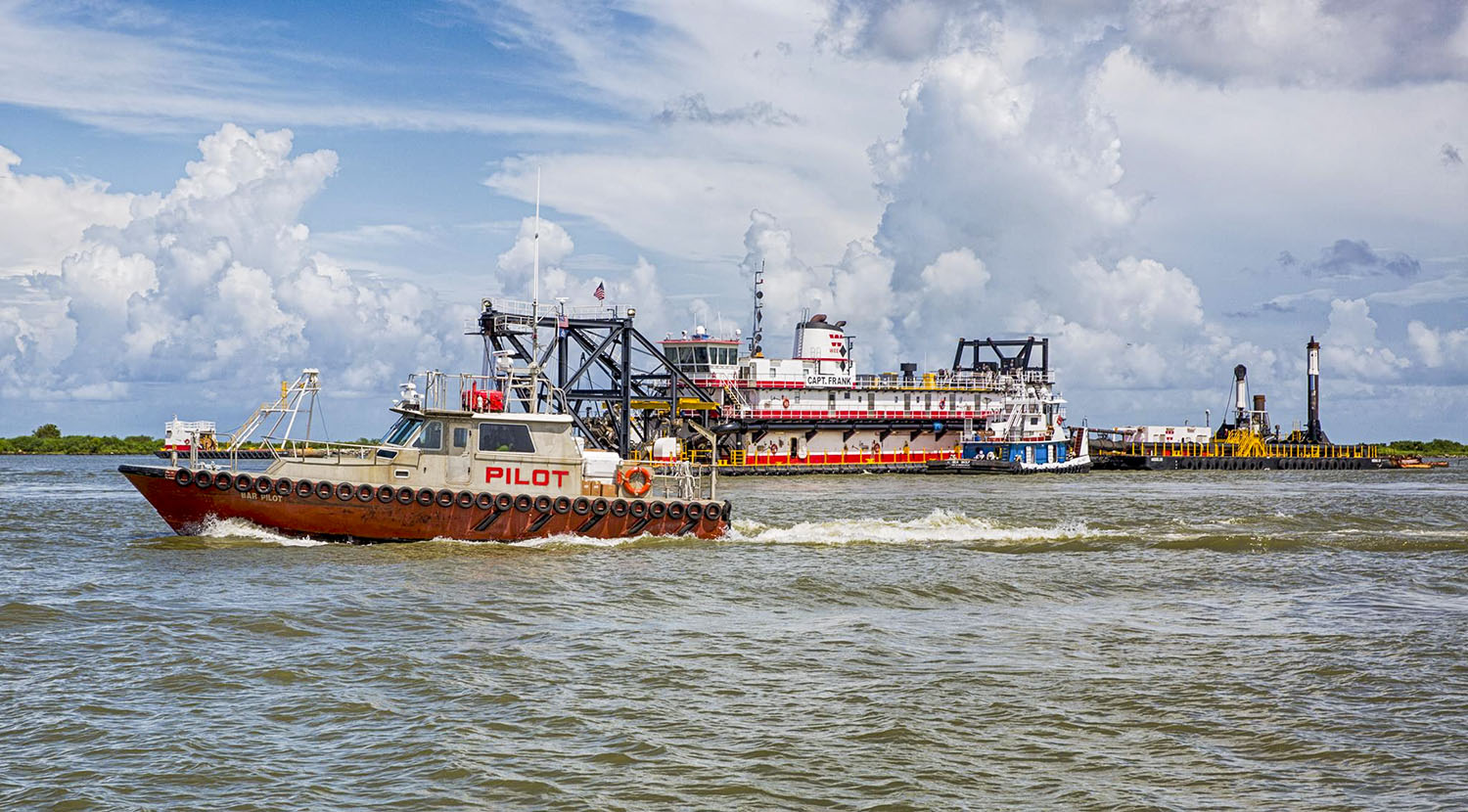 Corps Kicks Off Lower Mississippi River Ship Channel Deepening