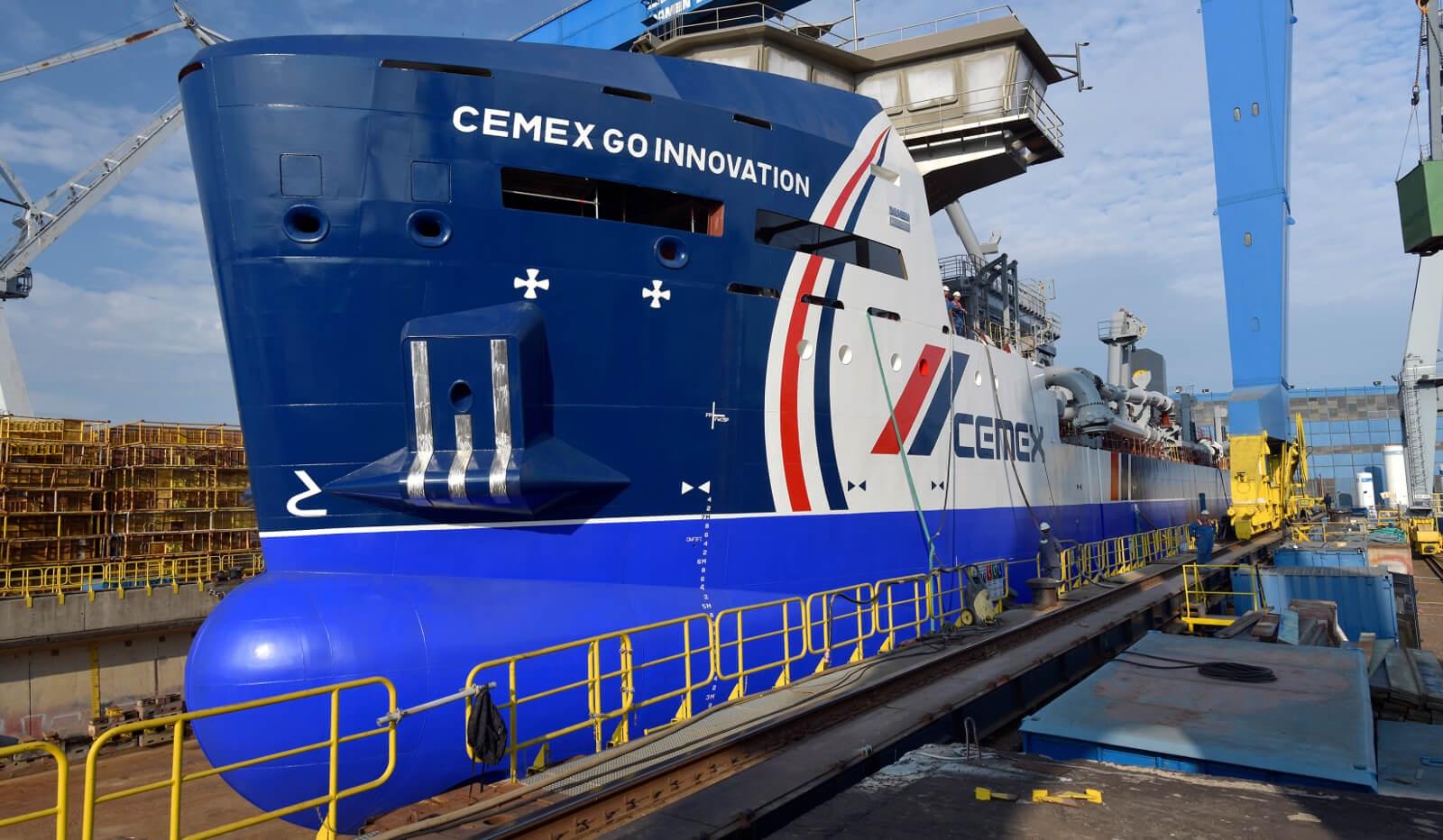 Damen Launches First Marine Aggregate Dredge Class