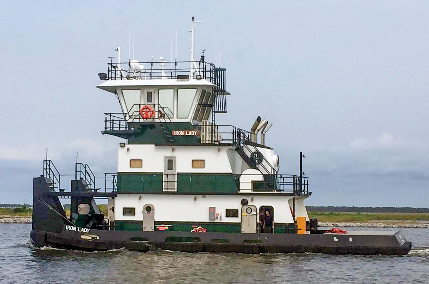 The Iron Lady is the first of four towboats for Plimsoll. (Photo courtesy of Master Marine)