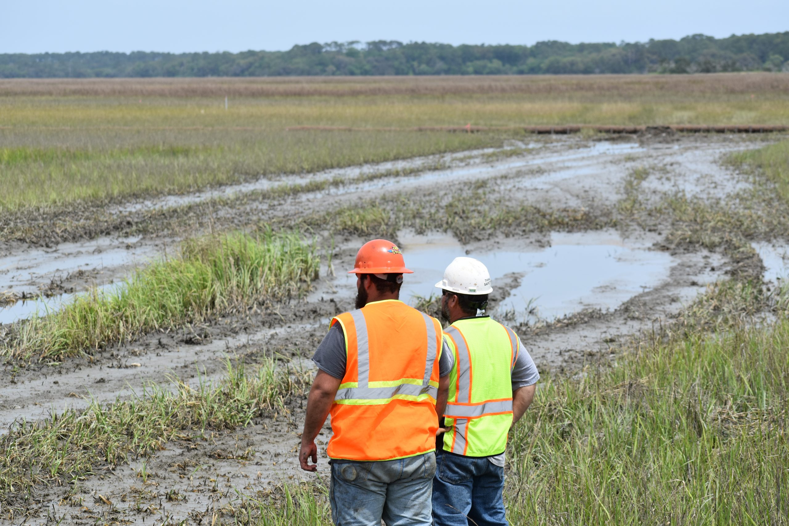 Beneficial Use Pilot Project Underway for Jekyll Creek