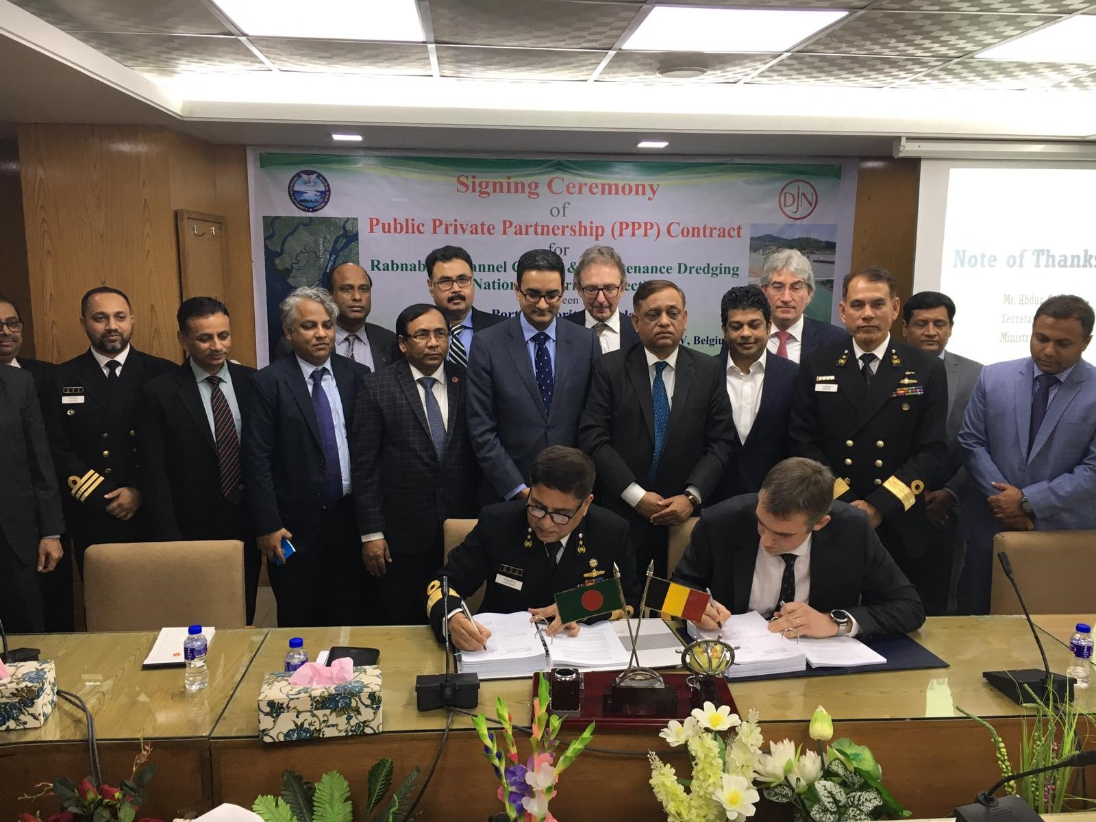 Jan De Nul Group Subsidiary Signs agreement with Payra Port Authority in Bangladesh