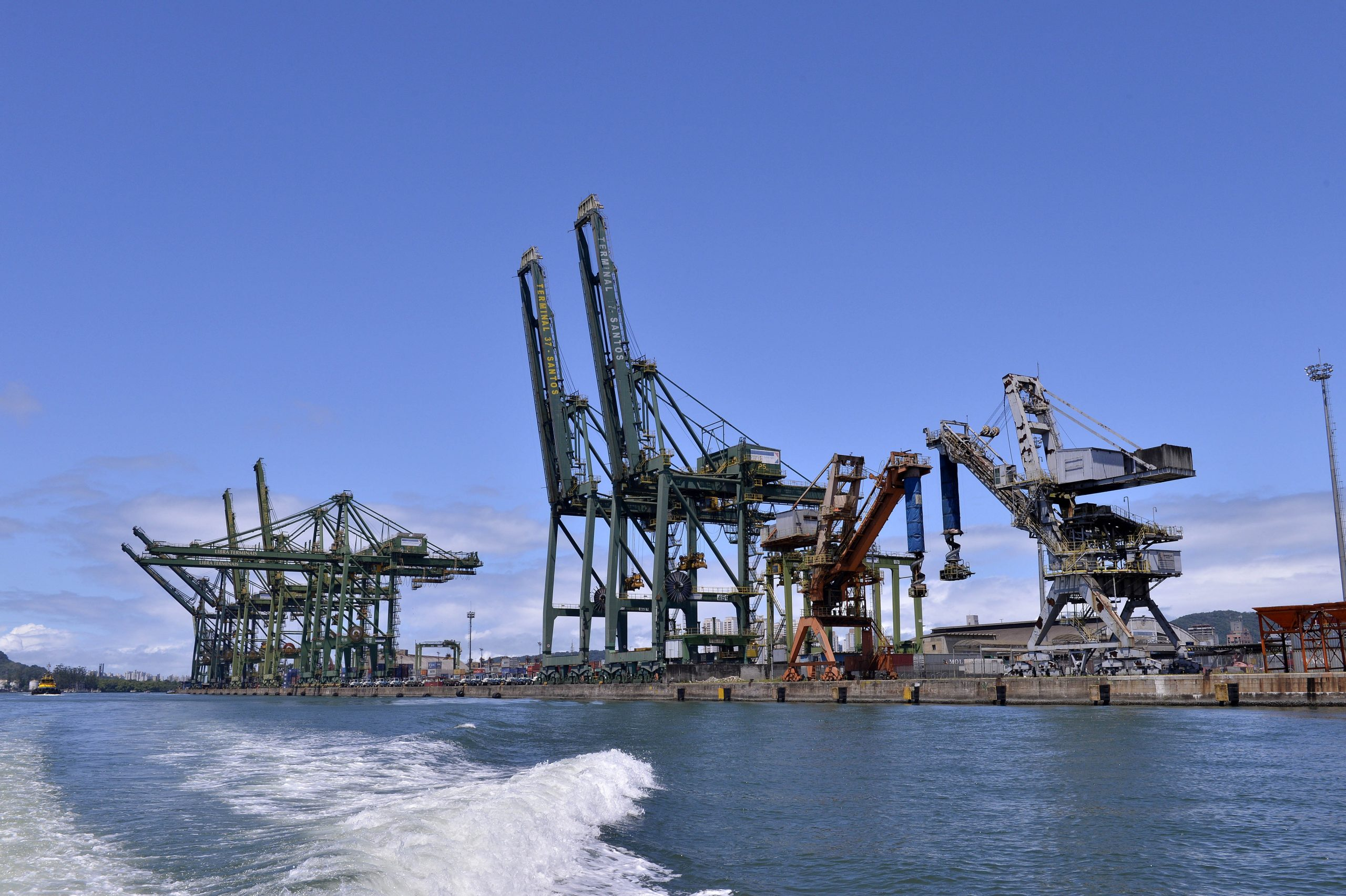Brazil Advances on Dredging Modeling  for Port of Santos
