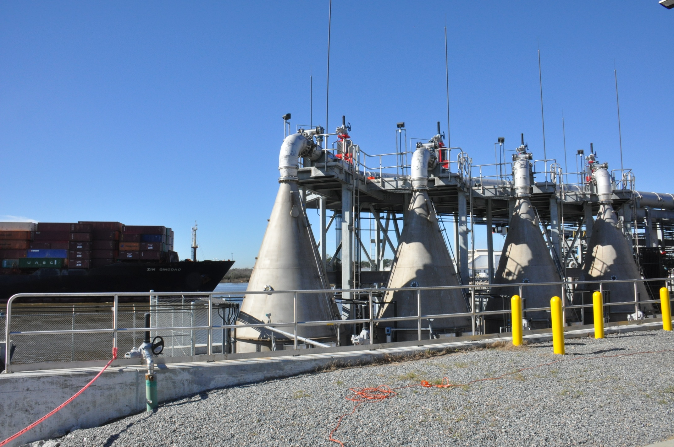 Oxygenating System In Savannah Harbor Expansion Is Largest To Date