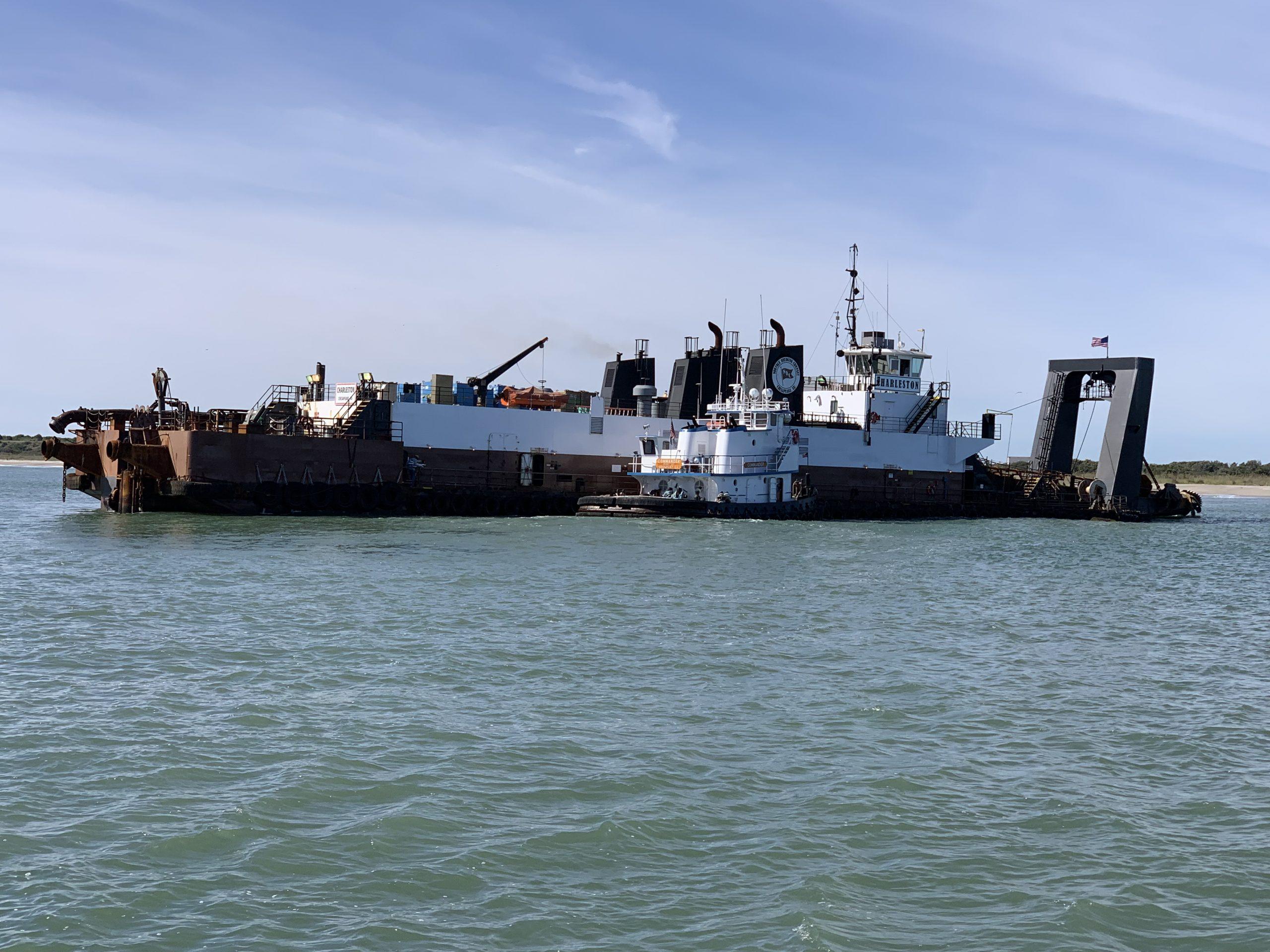 Norfolk Dredging Company Begins Work in Canaveral Harbor