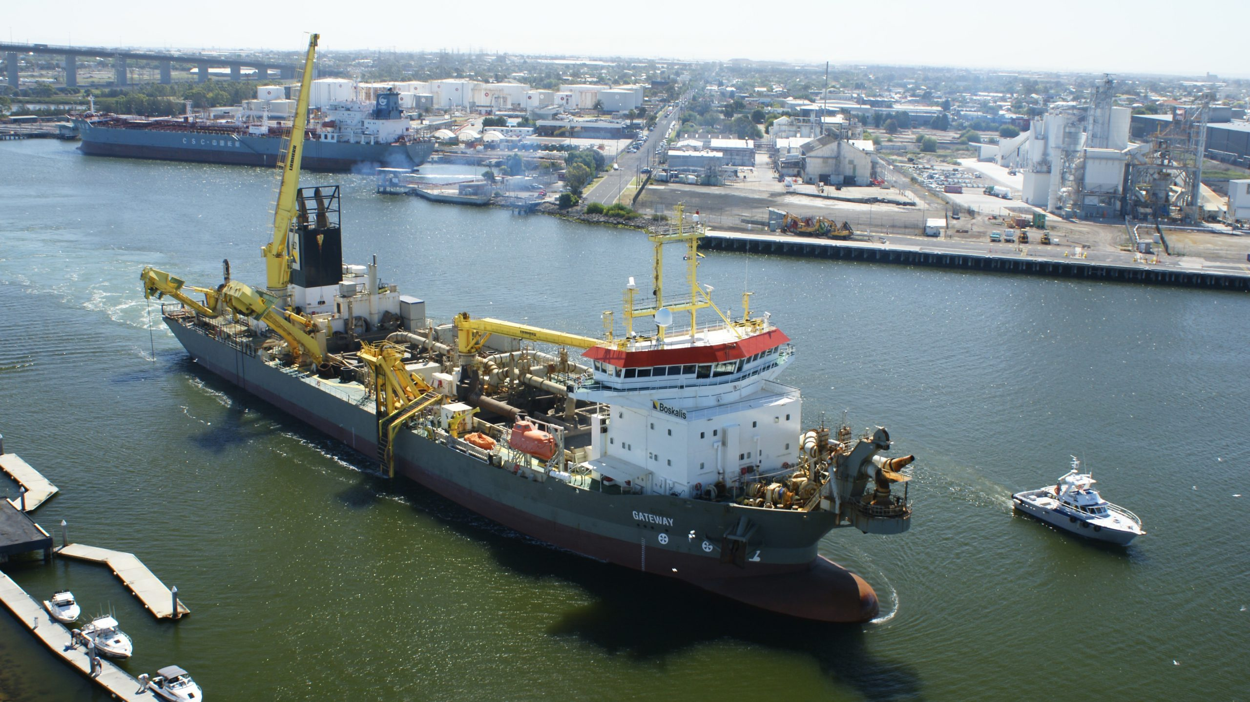 Royal Boskalis Awarded Port Adelaide Contract