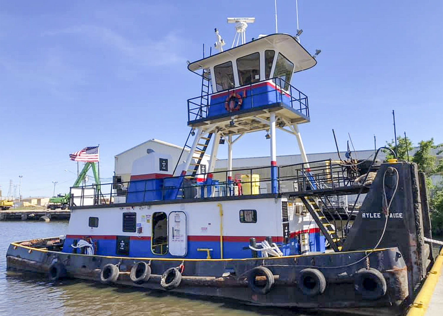 The Rylee Paige is one of six boats in the Whitaker Marine fleet.