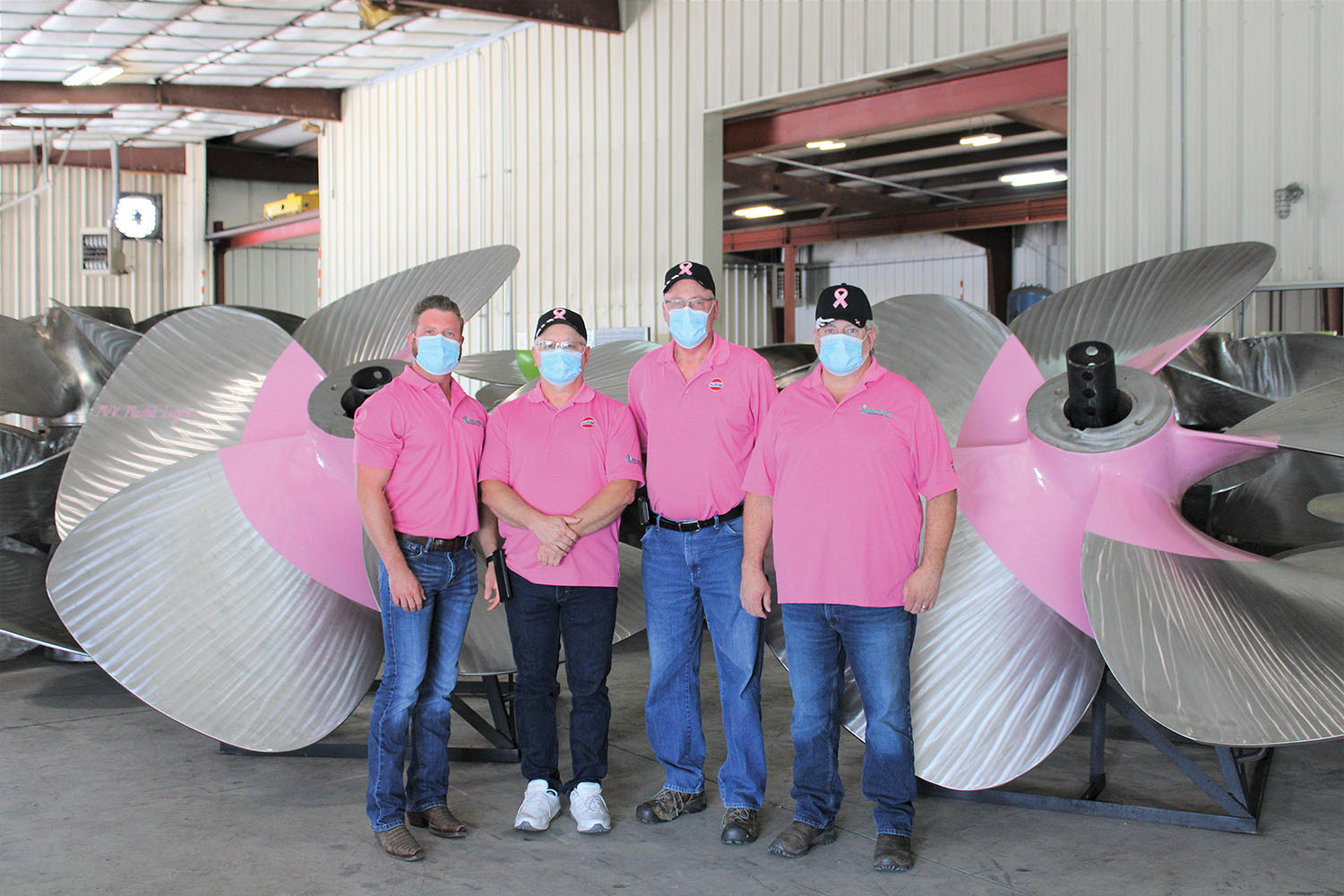 Big River Propeller, Ingram Partner For Breast Cancer Campaign