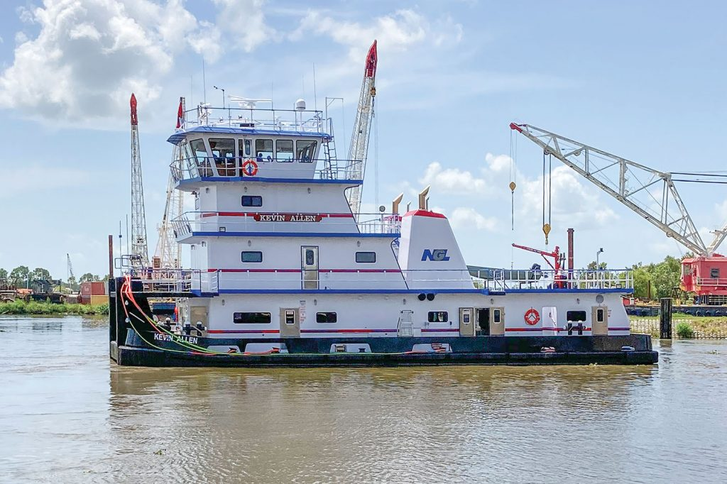 The Kevin Allen, built for NGL Marine by Main Iron Works. (Photo courtesy of NGL Marine)