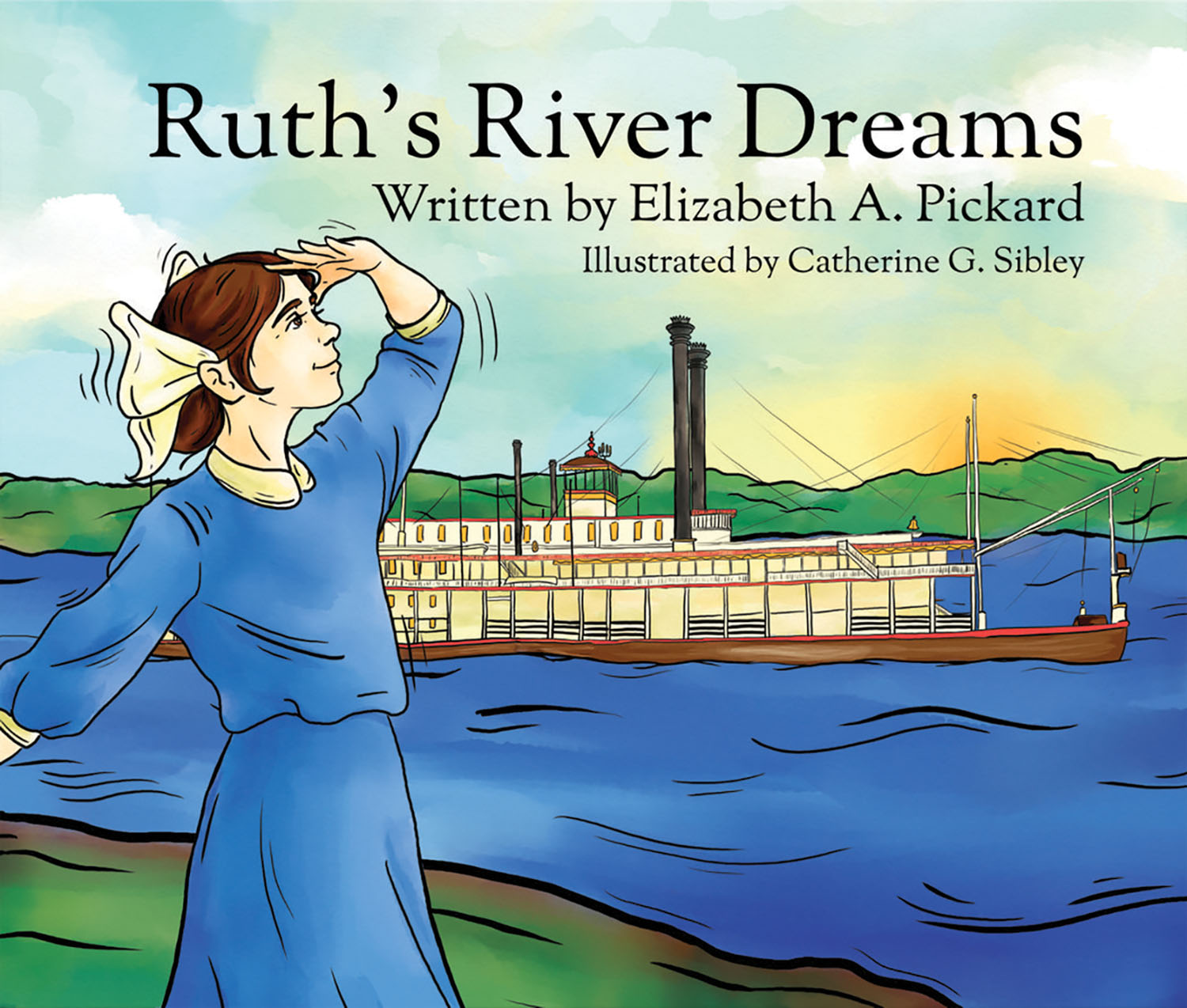 Cover of new children's book is tribute to Ruth Ferris. (Courtesy of Missouri Historical Society)
