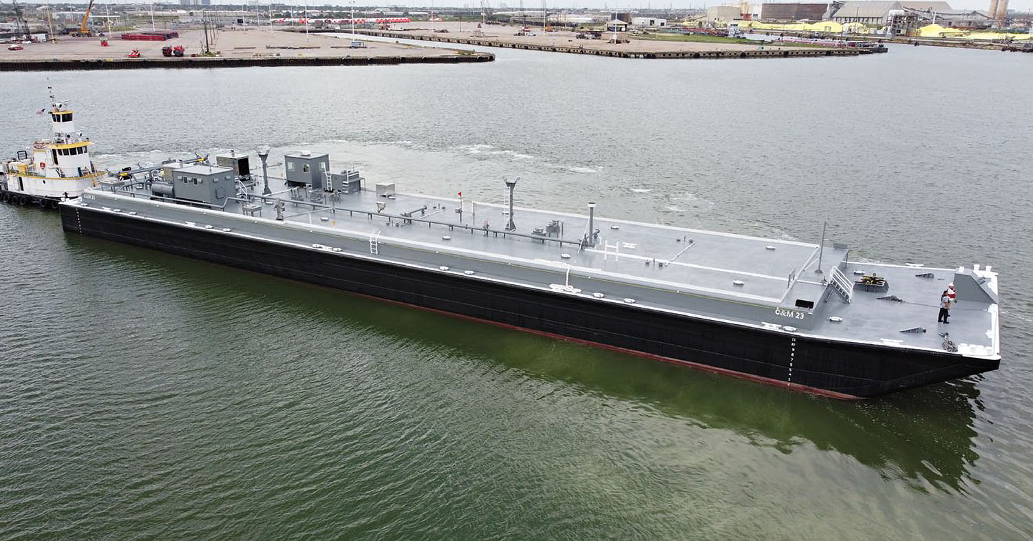 Southwest Shipyard Delivers Tank Barge