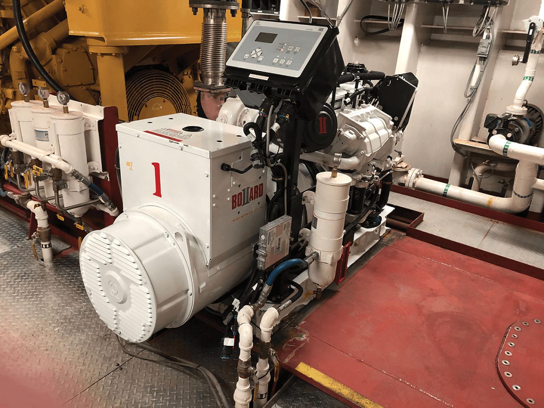 A Bollard 99 kw. generator.