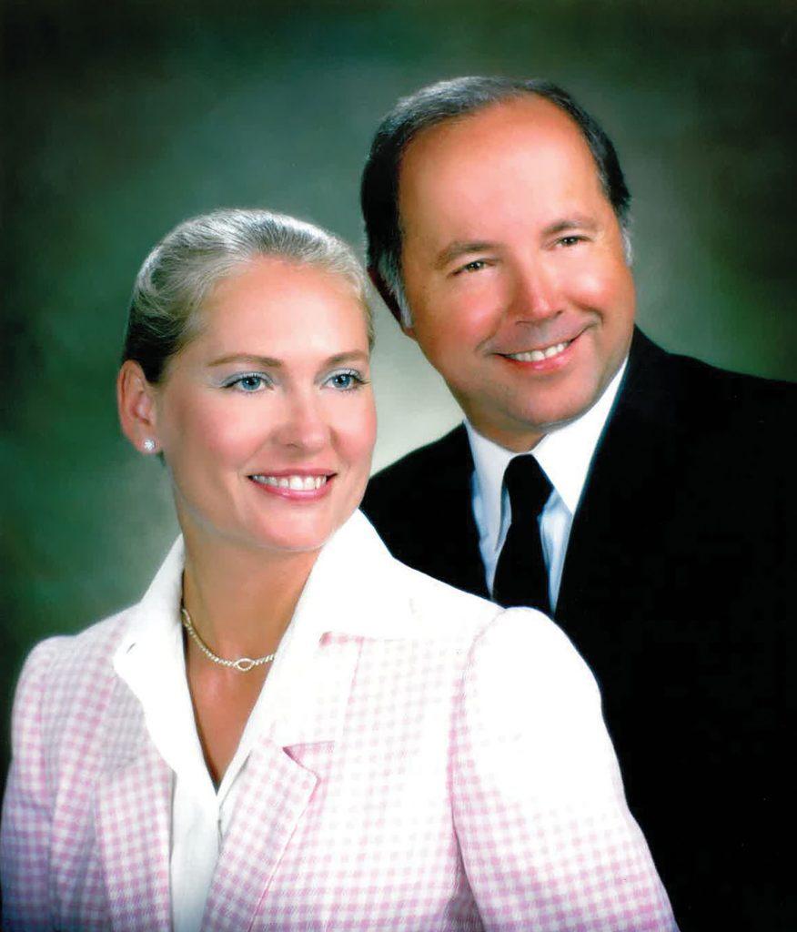 Billie Ruth Bearden Duncan and Dan Duncan.