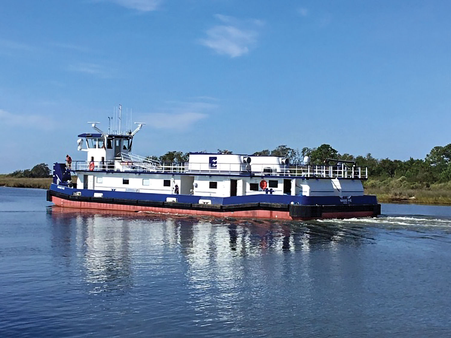 Enterprise Takes Delivery Of Twin Towboats From Steiner