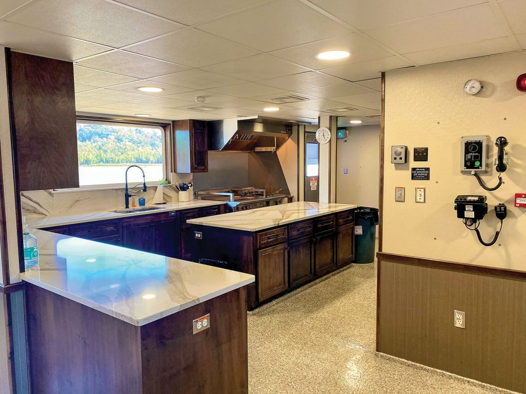 Galley of the Scarlett Rose Furlong. (Photo courtesy of Hines Furlong Line)