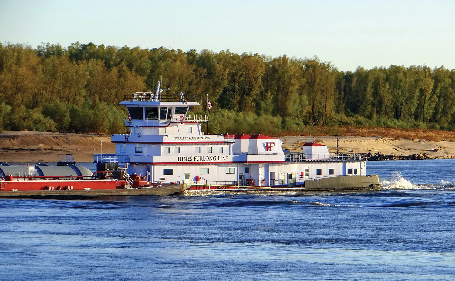 C&C Delivers Triple-Screw Towboat To Hines Furlong Line