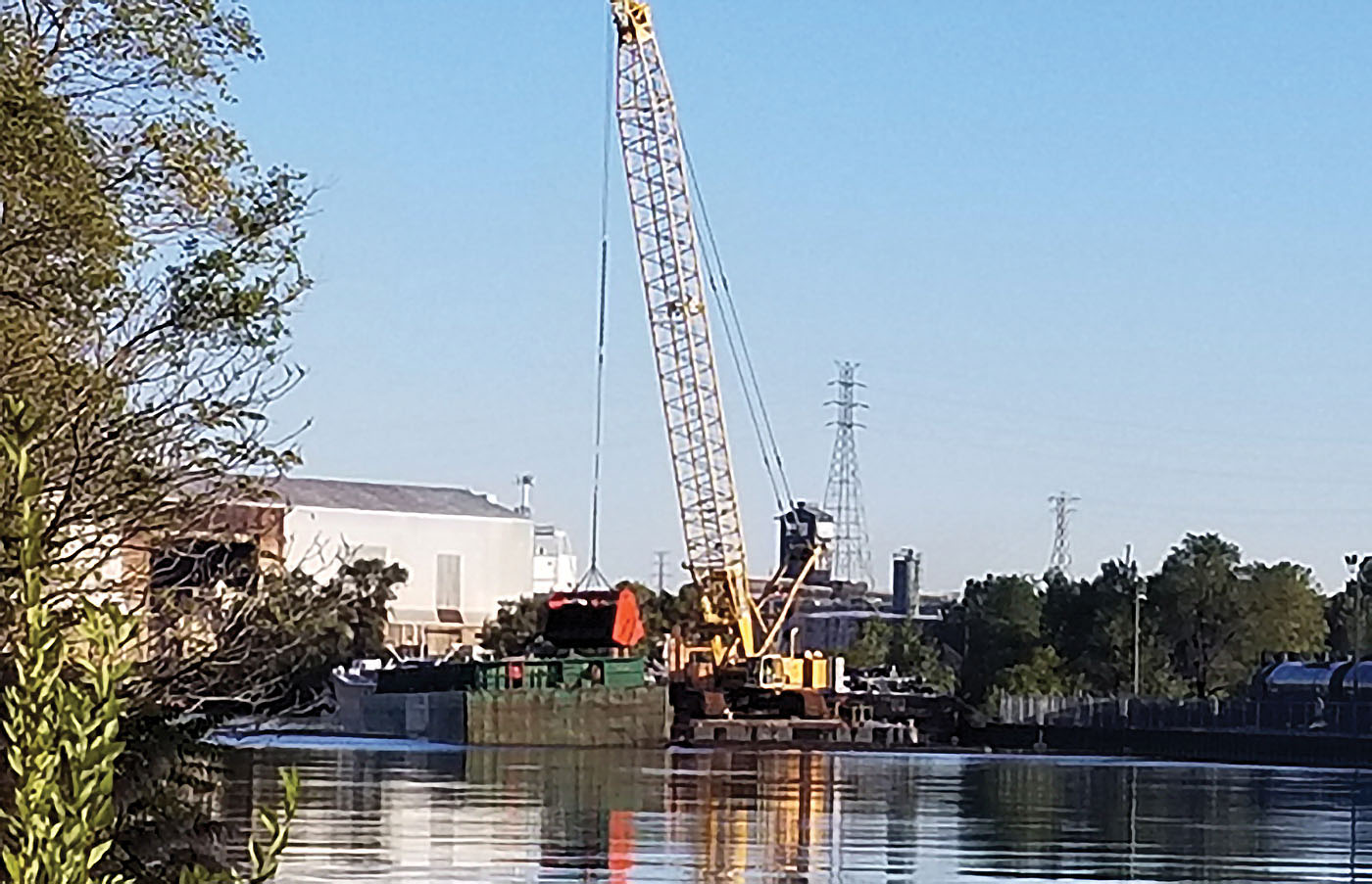 Dredging Resumes At Indiana Harbor