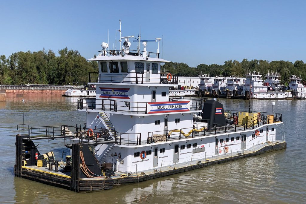 The mv. Mark L. Duplantis is named after ACBL's late director of Gulf vessel engineering.
