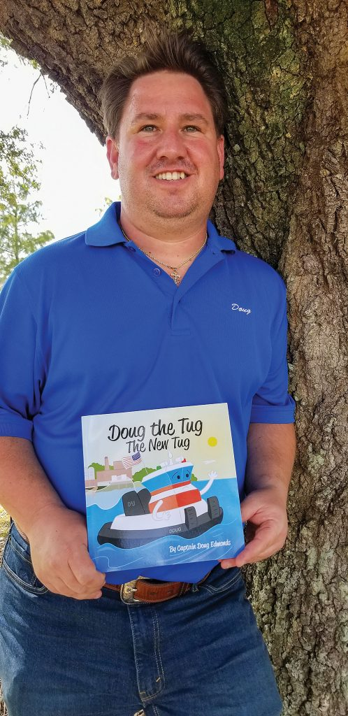 Doug Edmonds, towboat captain with Kirby, has written a children's picture book that tells the story of a towboat named Doug.