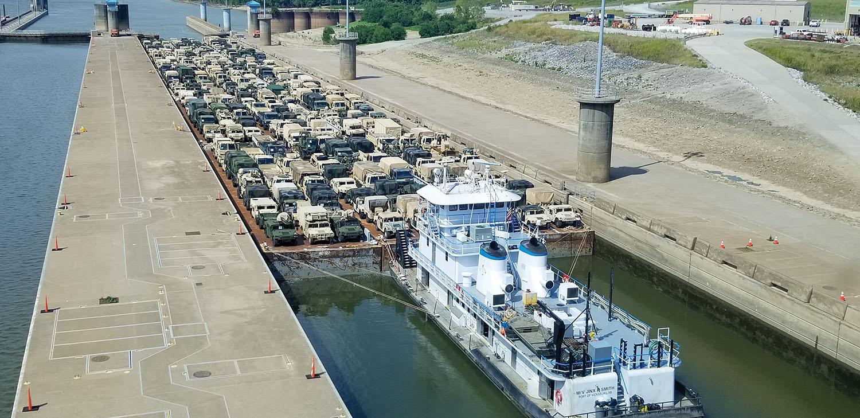 Military Equipment Move