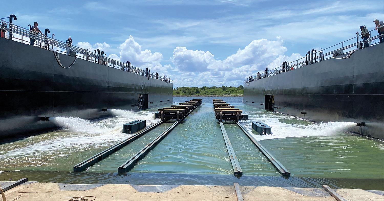 Vessel Repair Puts New Drydock Into Service