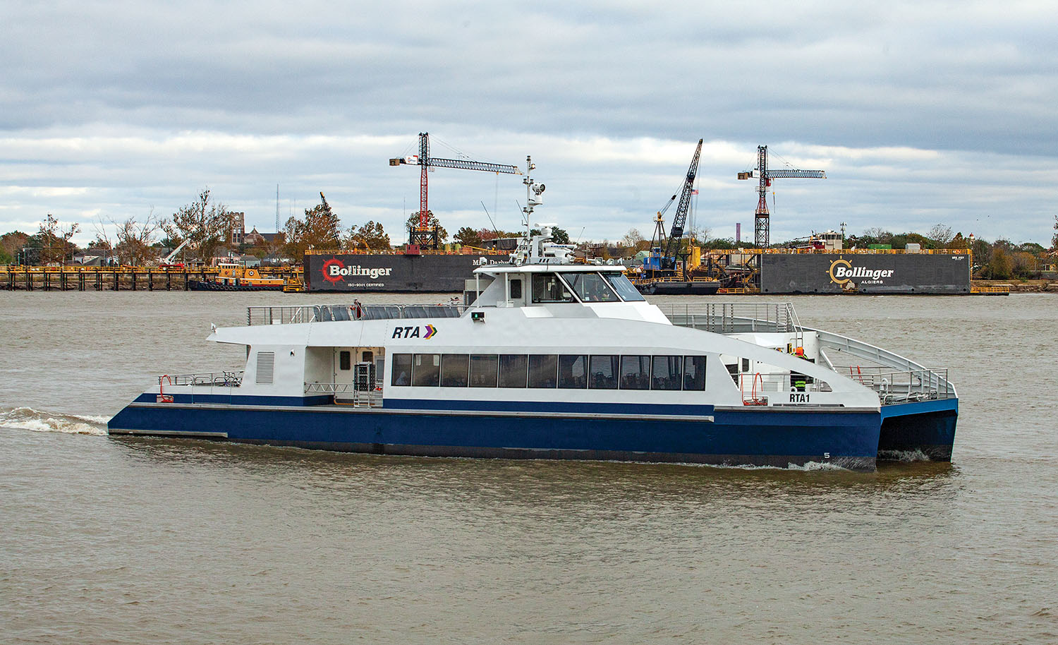 New Orleans Finally Puts New Ferries Into Service