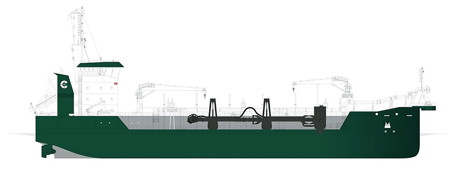 Cashman Dredging & Marine Construction plans for the new dredge to enter service in 2024.