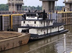 The same vessel, with an added deck, operating for Madison Coal & Supply as the C.T. Jones.