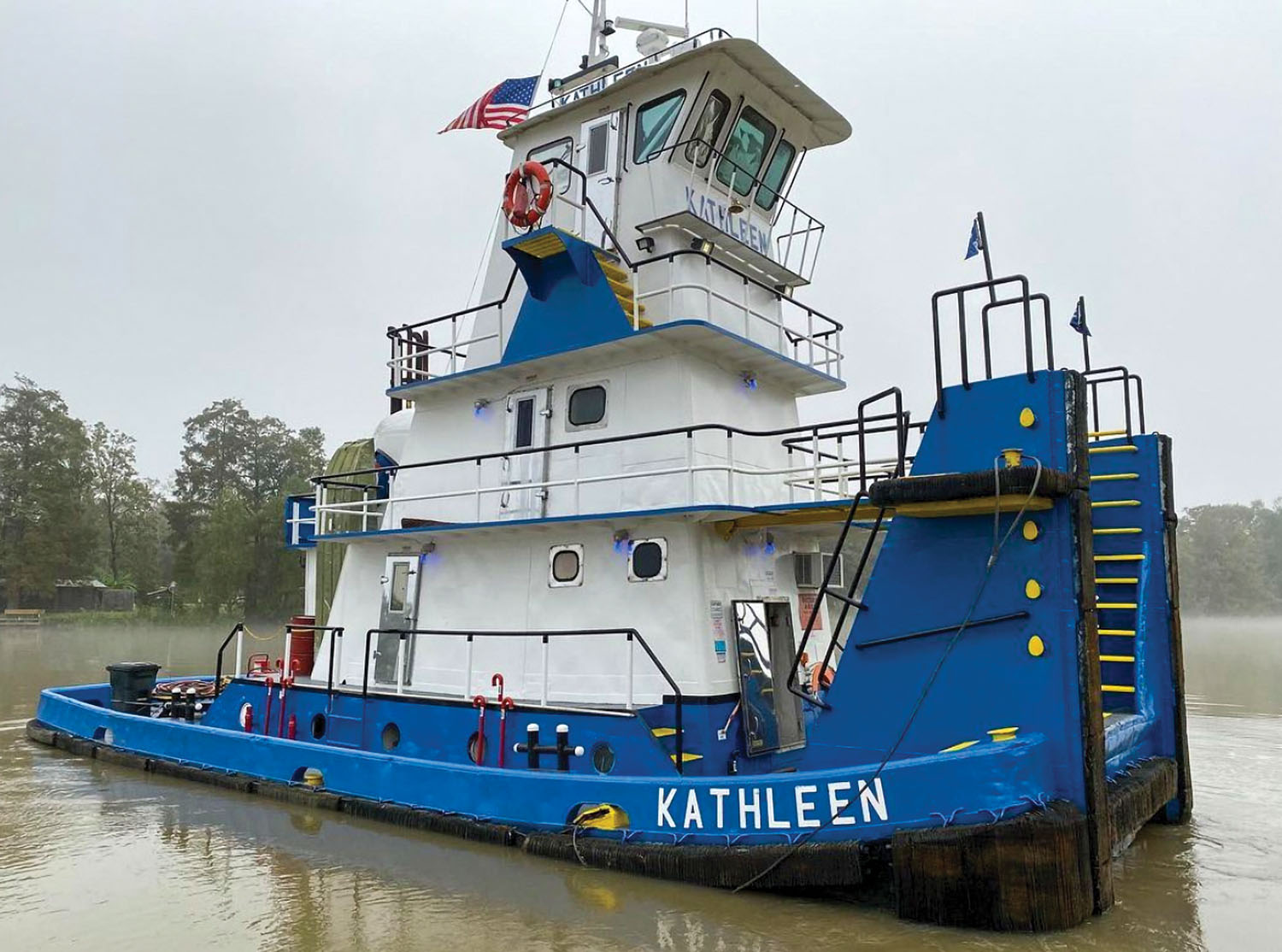 The Kathleen, after it was enlarged in all dimensions in 1971.