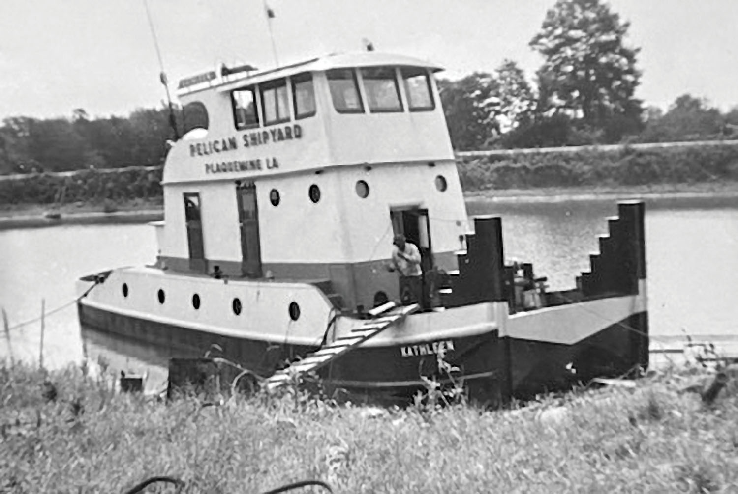 Longtime Businelle Towing Vessel Nears End Of The Line