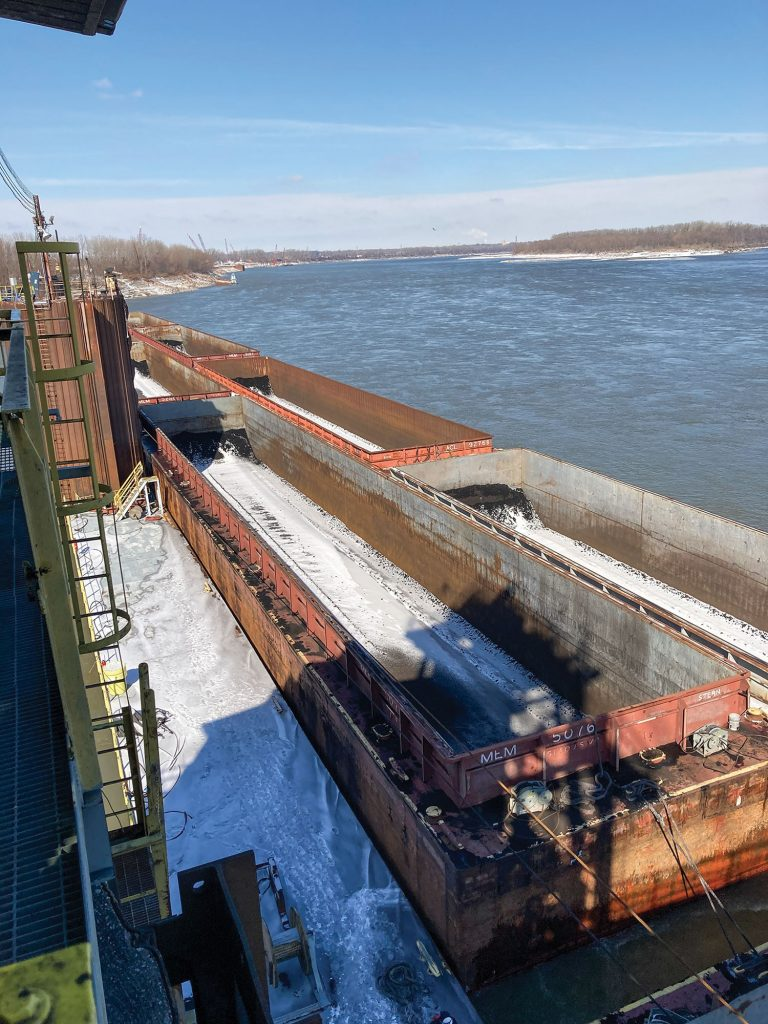 The Hall Street Terminal is located north of downtown St. Louis, across the river from the lower end of the Chain of Rocks Canal. (Photo courtesy of ACBL)