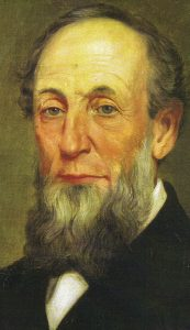 Portrait (artist unknown) of James Howard, 1814-1876. (Courtesy of the Howard Steamboat Museum)
