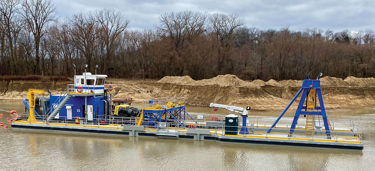 CDW Launches New Chain-Ladder Suction Dredge