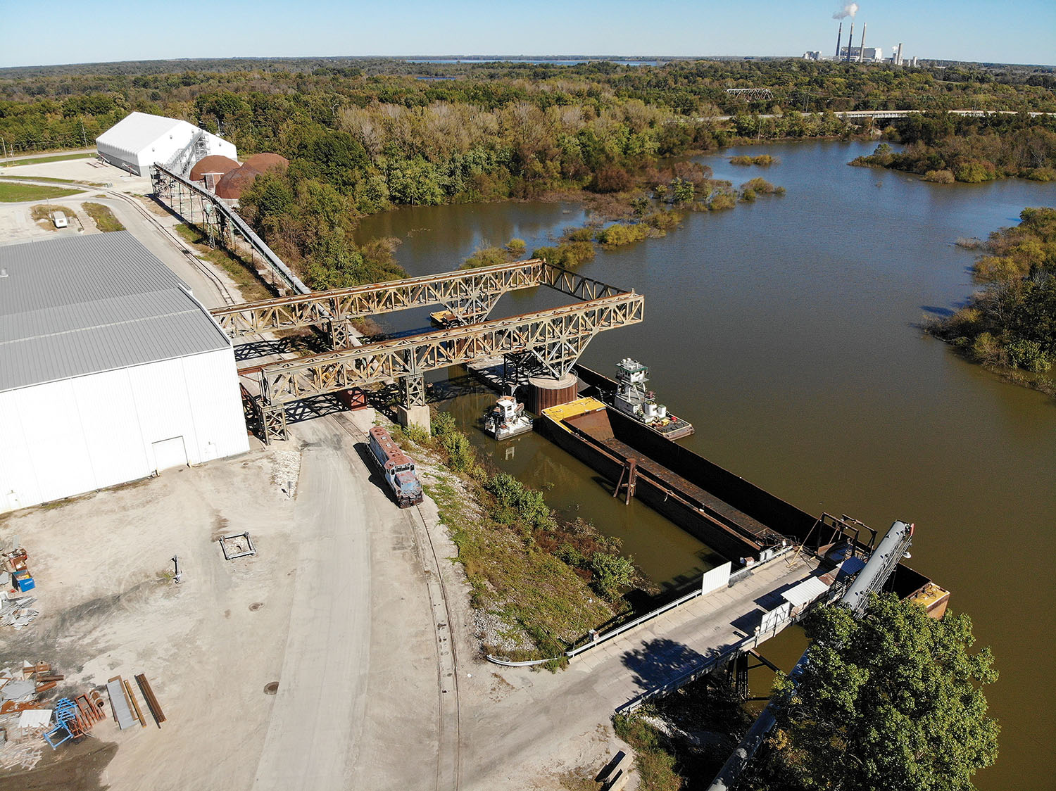 Corps Completes Determination For Kaskaskia River Harbor