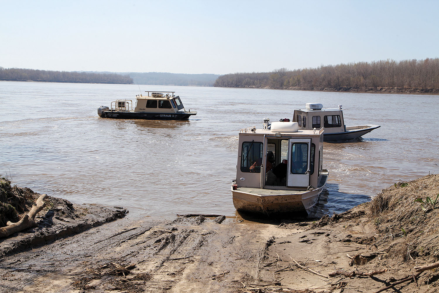 MRC, Corps Leaders Tour Missouri River