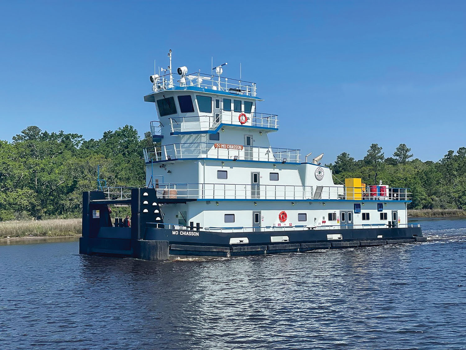 FMT Takes Delivery Of Mv. Mo Chiasson